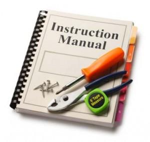 Internet, Instruction manuals