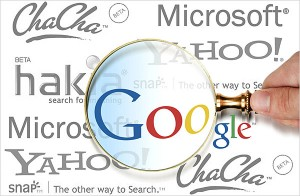Internet, Rank high on Google search